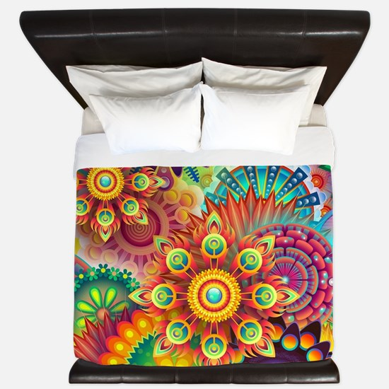 Unique Colorful King Duvet