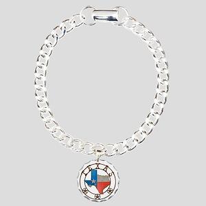 Texas Wrought Iron Barn Art Bracelet