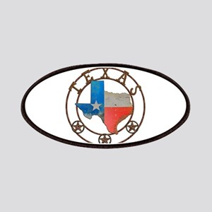 Texas Wrought Iron Barn Art Patch