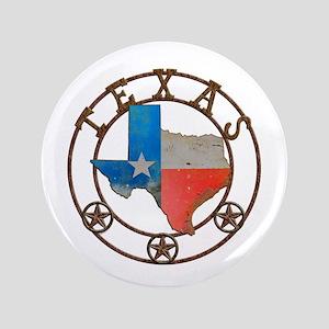 Texas Wrought Iron Barn Art Button