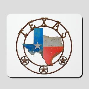 Texas Wrought Iron Barn Art Mousepad