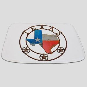 Texas Wrought Iron Barn Art Bathmat