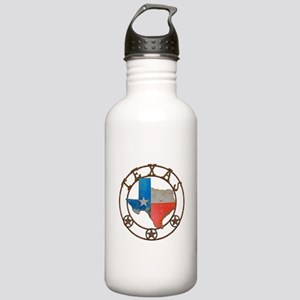 Texas Wrought Iron Barn Art Water Bottle