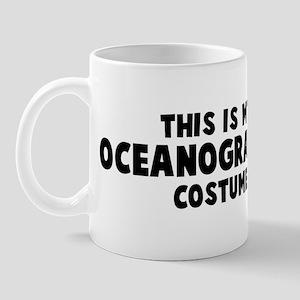 Oceanographer costume Mug