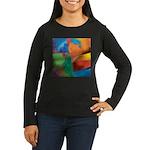 Tactile Women's Long Sleeve Dark T-Shirt