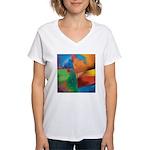 Tactile Women's V-Neck T-Shirt