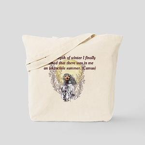 Winter Pagan Goddess Tote Bag