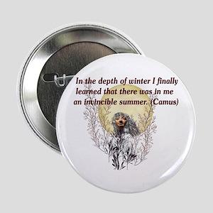 Winter Pagan Goddess Button