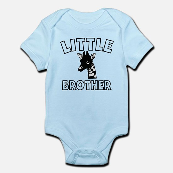 Little Brother Giraffe Body Suit