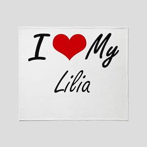 I love my Lilia Throw Blanket