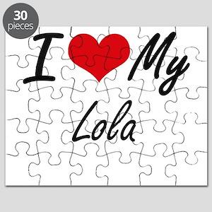 I love my Lola Puzzle