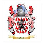 McWalter Square Car Magnet 3
