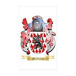 McWalter Sticker (Rectangle 10 pk)