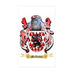 McWalter Sticker (Rectangle 50 pk)