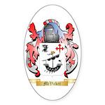 McVicker Sticker (Oval 50 pk)