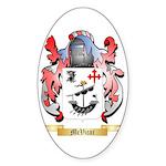 McVicar Sticker (Oval 10 pk)