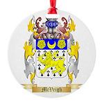 McVeigh Round Ornament