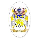 McVeigh Sticker (Oval 10 pk)
