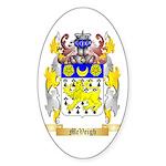 McVeigh Sticker (Oval 50 pk)
