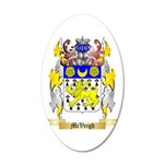 McVeigh 20x12 Oval Wall Decal