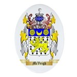 McVeigh Oval Ornament