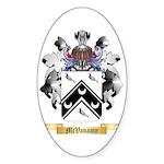 McVanamy Sticker (Oval)