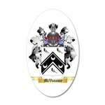 McVanamy 20x12 Oval Wall Decal