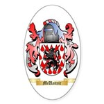 McUaiteir Sticker (Oval 50 pk)