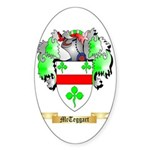 McTeggart Sticker (Oval)