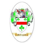 McTeggart Sticker (Oval 50 pk)