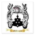 McTeague Square Car Magnet 3
