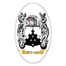 McTeague Sticker (Oval)