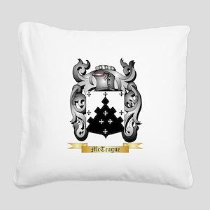 McTeague Square Canvas Pillow