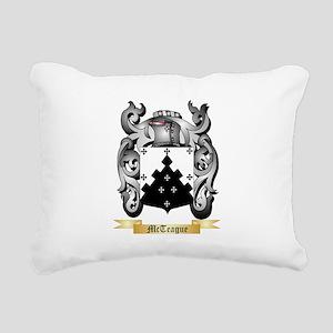 McTeague Rectangular Canvas Pillow