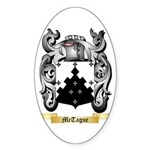 McTague Sticker (Oval 10 pk)