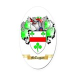McTaggart Oval Car Magnet
