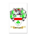 McTaggart Rectangle Car Magnet