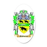 McSwiney Oval Car Magnet