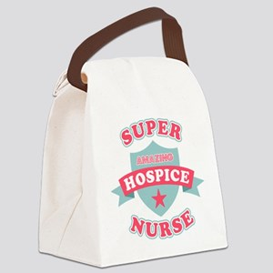 Super Hospice Nurse Canvas Lunch Bag