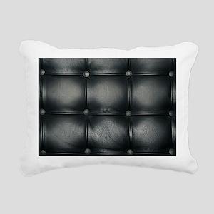 Leather Sofa Texture Rectangular Canvas Pillow