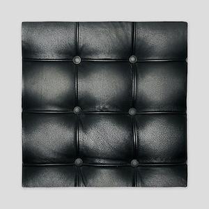 Leather Sofa Texture Queen Duvet