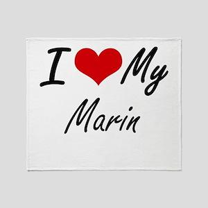 I love my Marin Throw Blanket