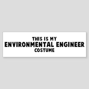 Environmental Engineer costum Bumper Sticker