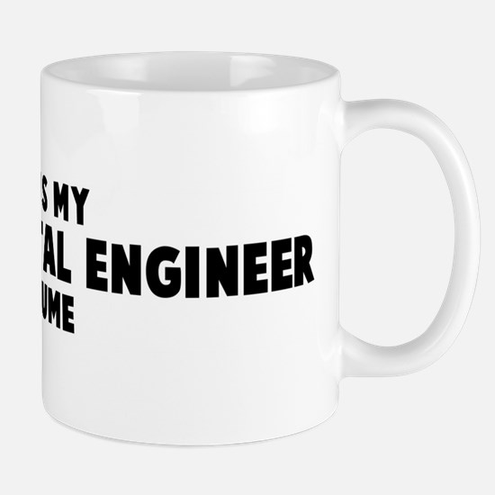 Environmental Engineer costum Mug