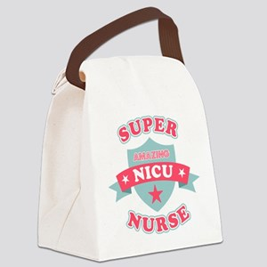 Super NICU Nurse Canvas Lunch Bag