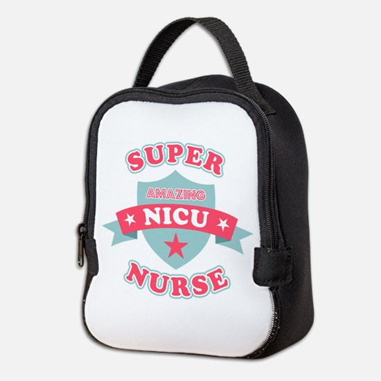 Super NICU Nurse Neoprene Lunch Bag