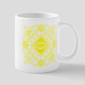Kamen Rider Club Ghost Seal Yellow Mugs