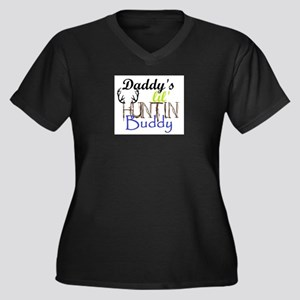 Daddys lil huntin Buddy Plus Size T-Shirt