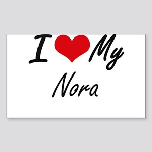 I love my Nora Sticker