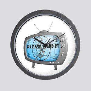Please Stand By TV Wall Clock